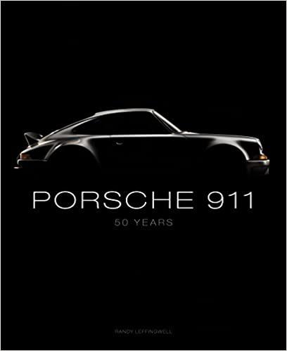 Porsche 911: 50 Years Hardcover Coffee Table Book