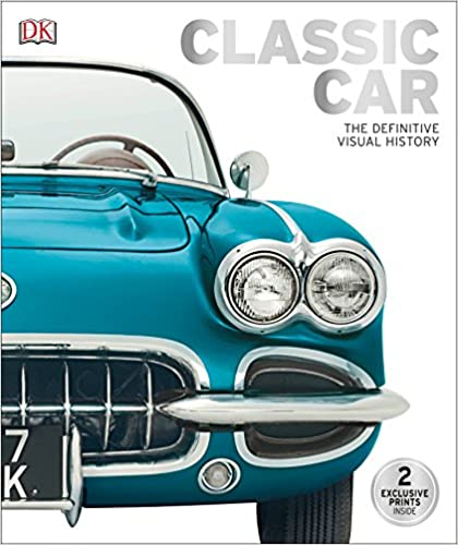 Classic Car: The Definitive Visual History Hardcover Coffee Table Book