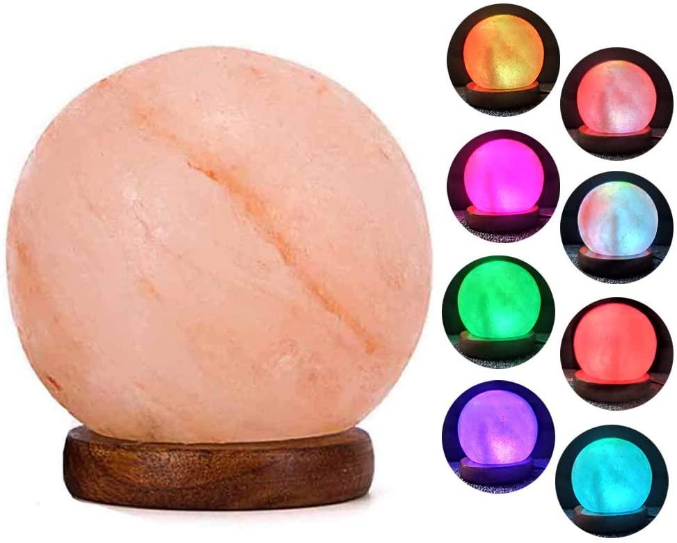 Best Round Color-Changing Himalayan Salt Lamp