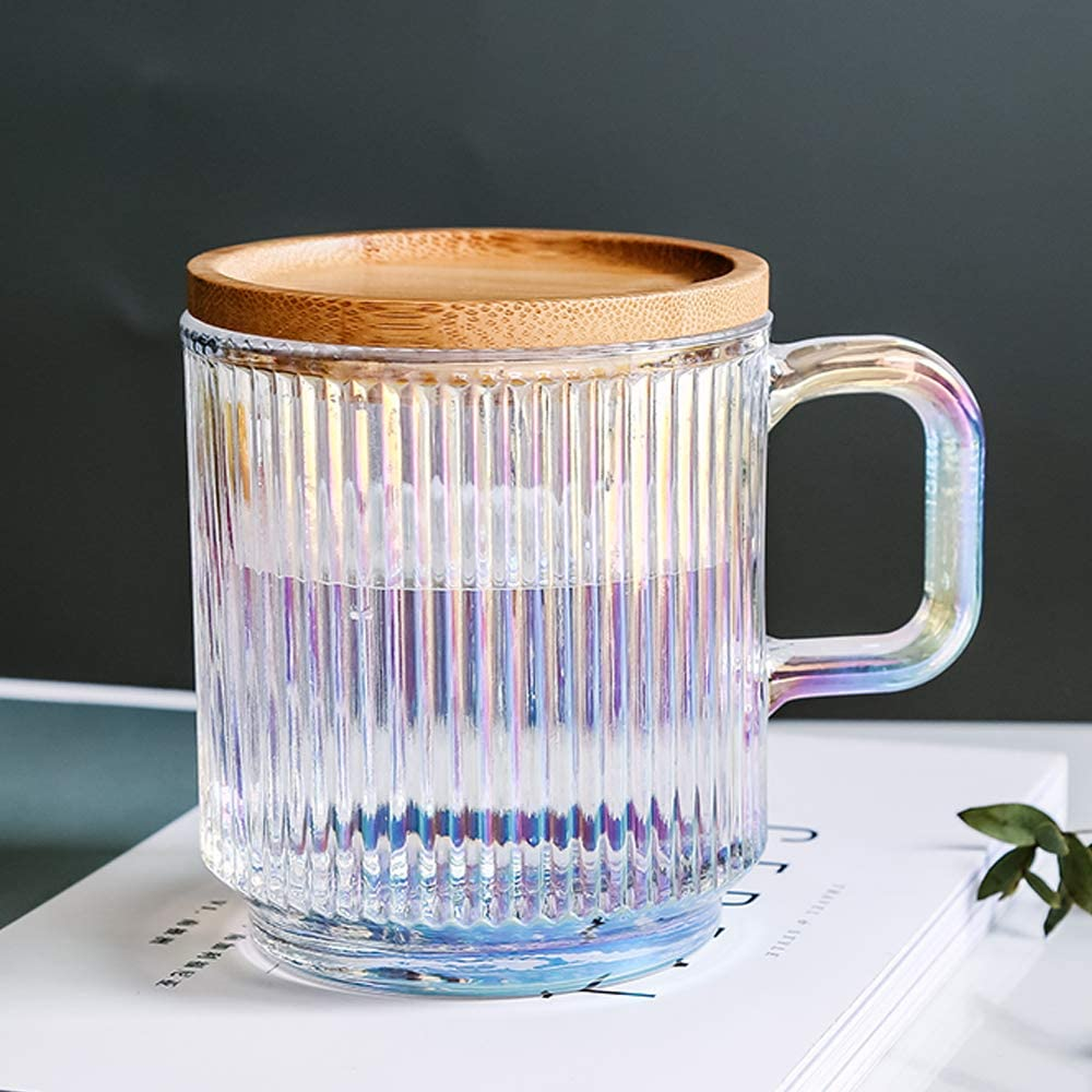 glass coffee mugs with lid
