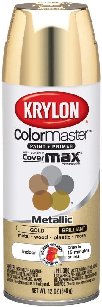 Best for Gold - Krylon ColorMaster Metallic Gold