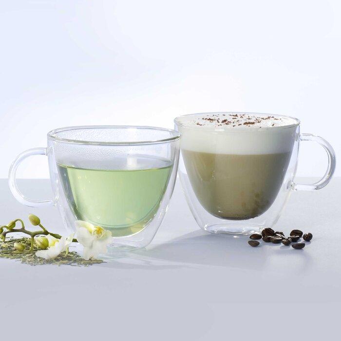 Artesano Glass Coffee Mug