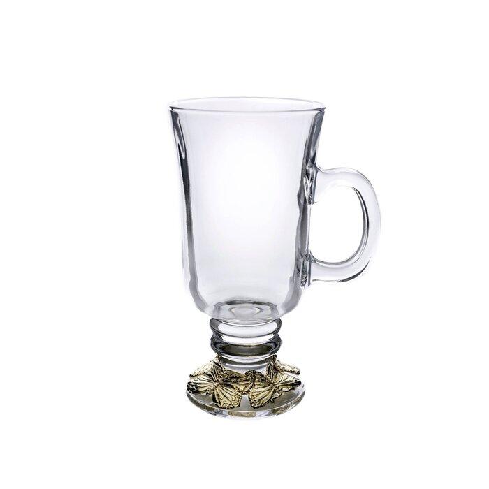butterfly irish coffee mugs