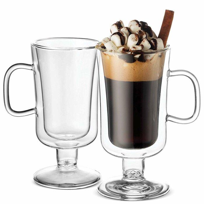 double wall irish coffee mugs