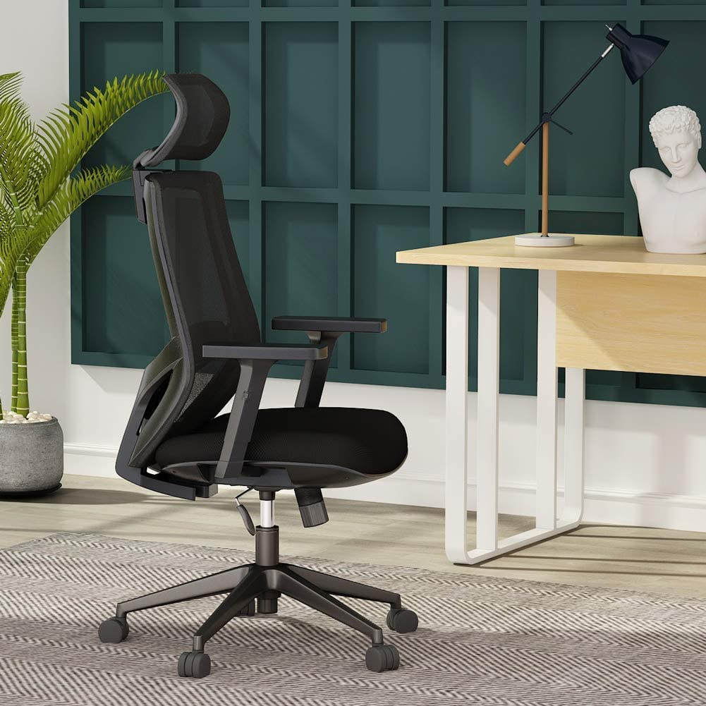 Tribesigns High Back Chair for Sciatica