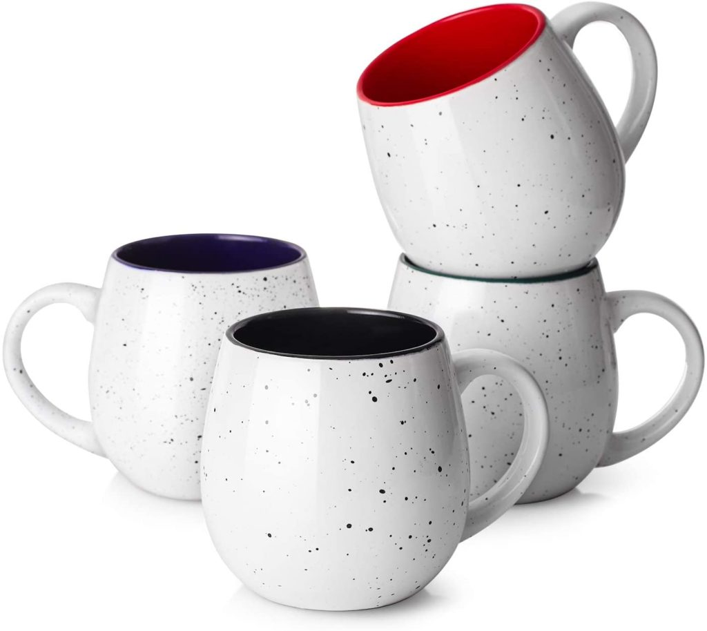 large coffee mugs set