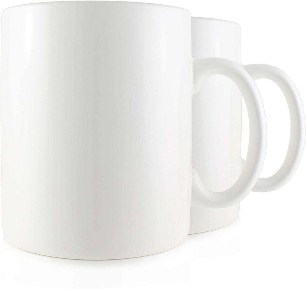 Serami Super Large White Coffee Mug
