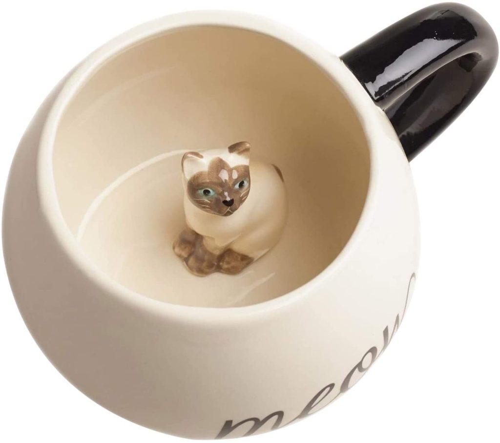 Surprise Cat Coffee Mug