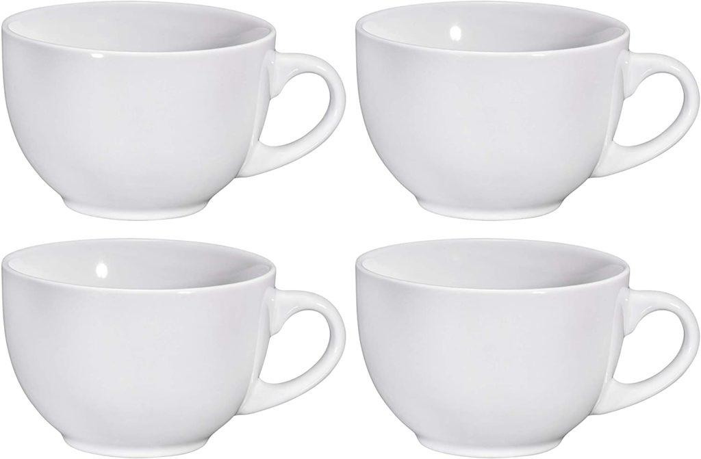 Wide Ceramic Mug Set