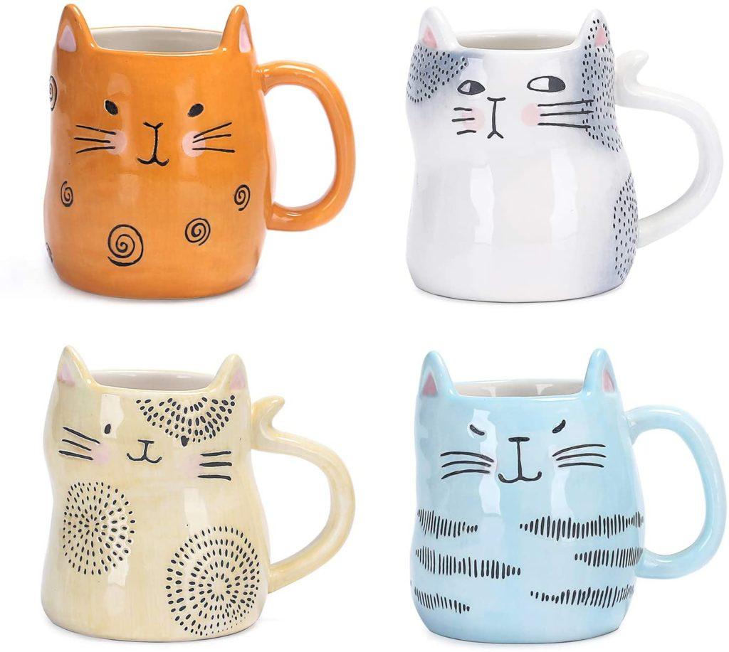 Bico Cartoon Cat Ceramic Mug