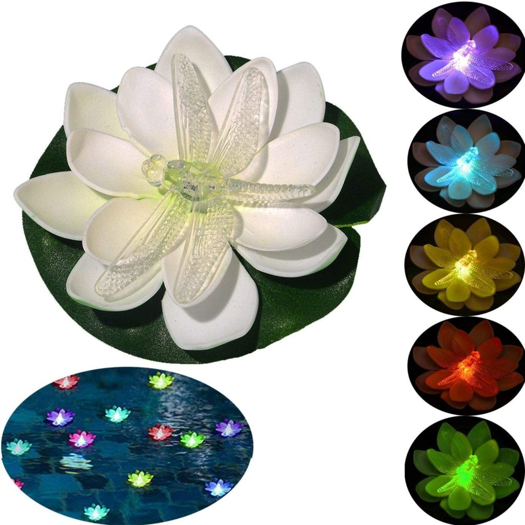 Floating Flower Battery Operated Pool Lights