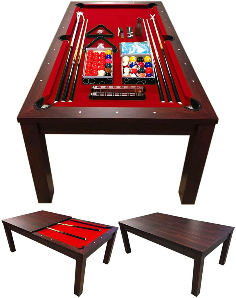 Best for small spaces - Simba Convertible Pool Table