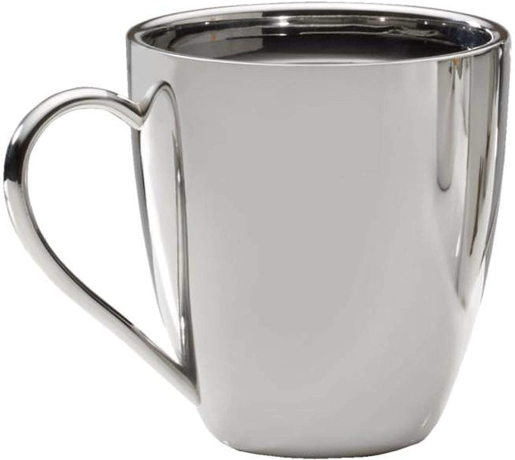 Mikasa Double Walled Stainless Steel Large Coffee Mug