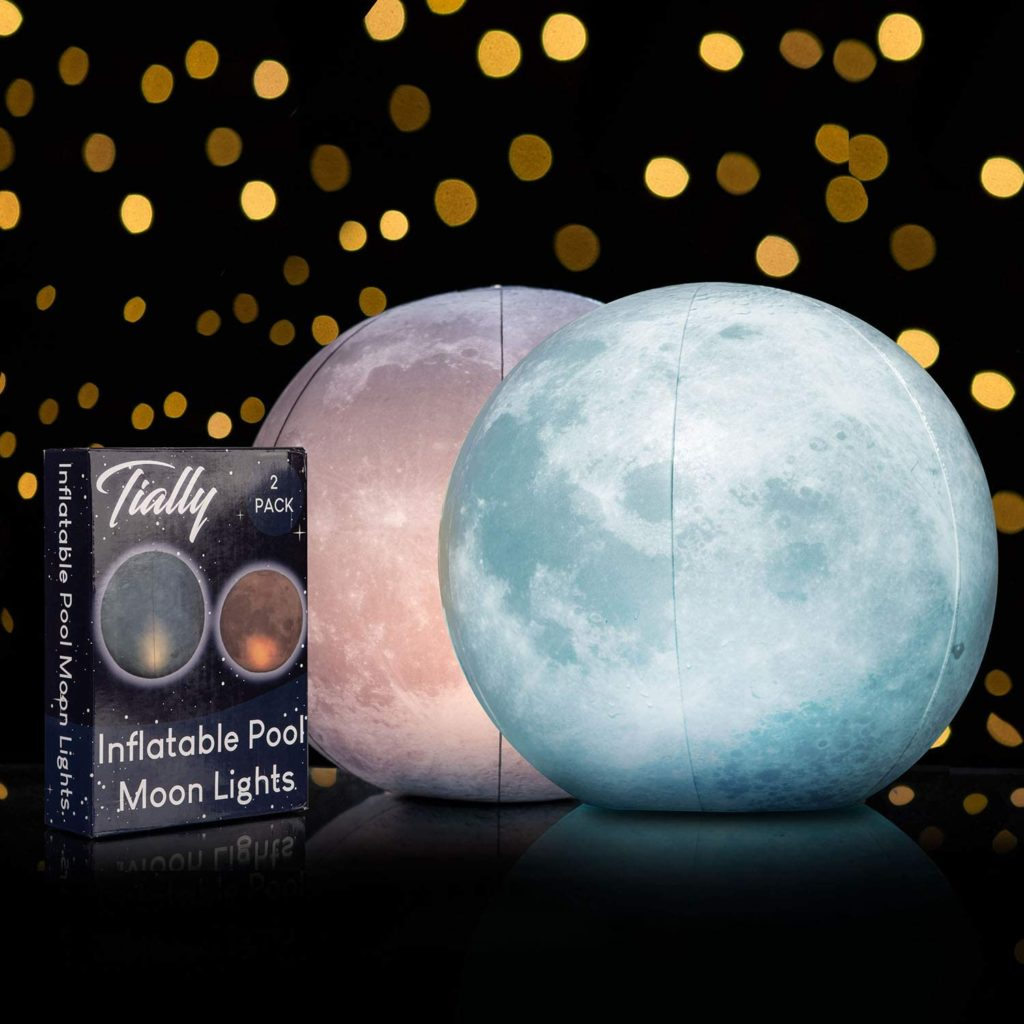 floating moon pool lights