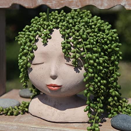 Female Head Planter