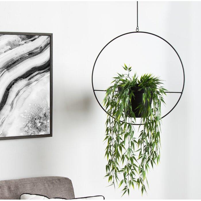 Hoop Metal Hanging Planter
