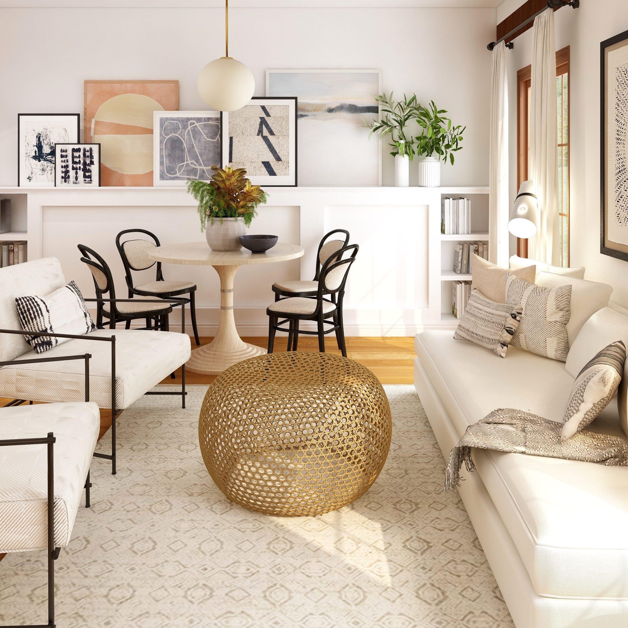 unique coffee table decor