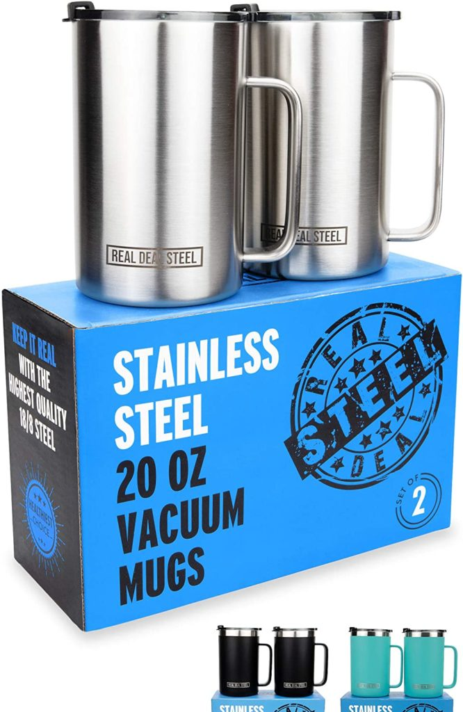 Stainless Steel Vacuum Large Insulated Mugs