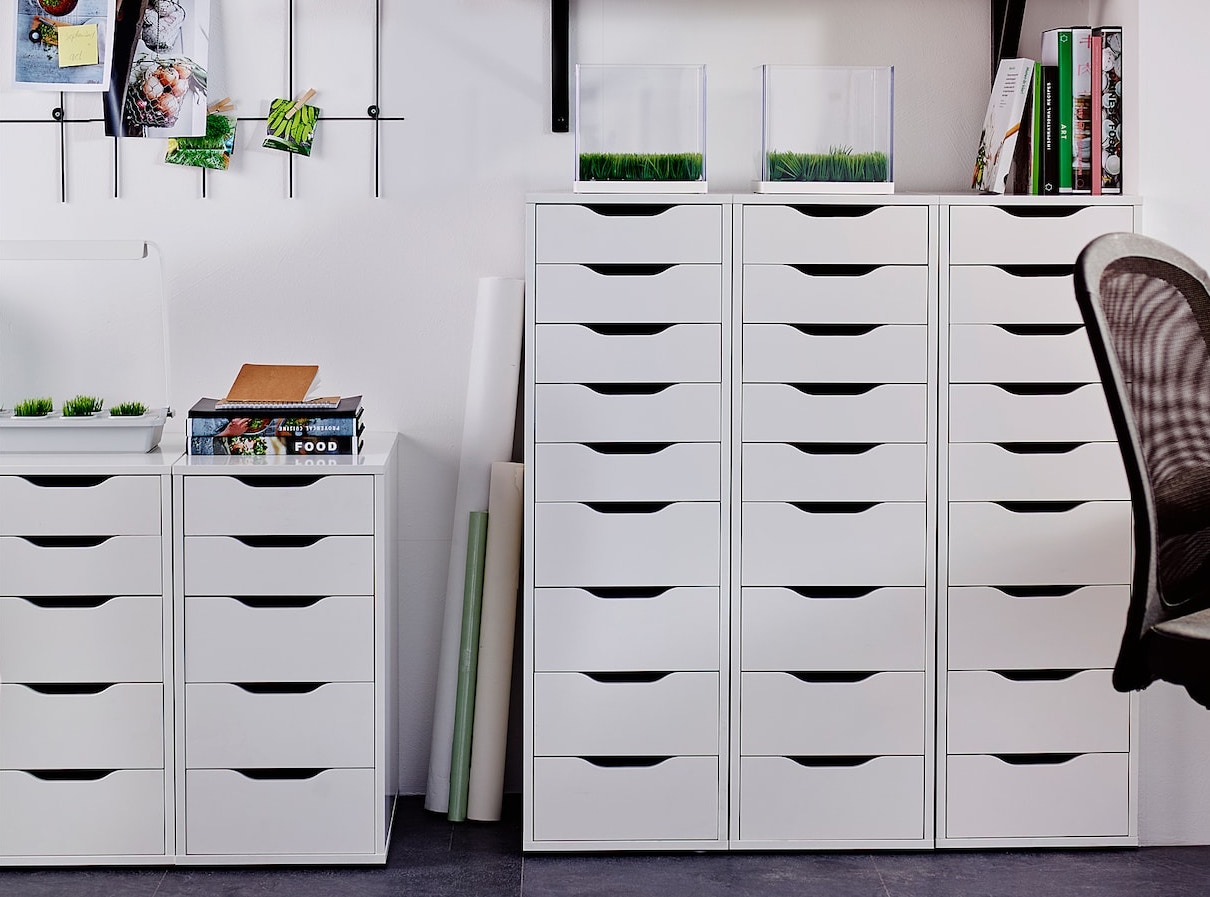 ikea alex drawers dupe