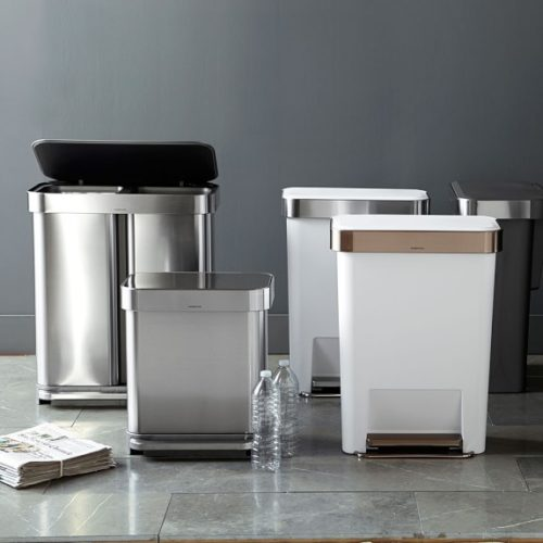 9 Best Touchless Trash Cans (Easy + Convenient)